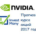 Прогноз курса акций Nvidia 2017